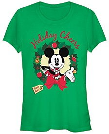 Women's Disney Mickey Classic Holiday Cheer Aunt Short Sleeve T-shirt