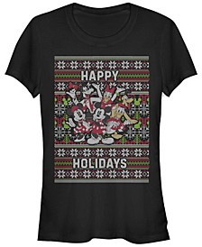 Women's Disney Mickey Classic Mickey Six Sweater Short Sleeve T-shirt