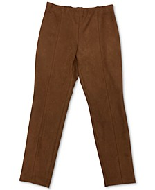 Faux-Suede Pants, Created for Macy's