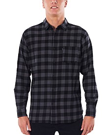 Men's Check This Long Sleeve Woven Shirt