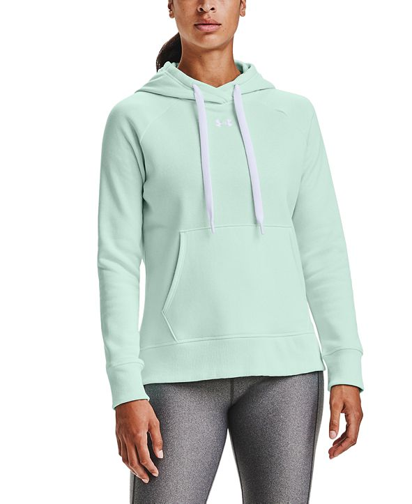 Under Armour Women's Rival Fleece HB Hoodie