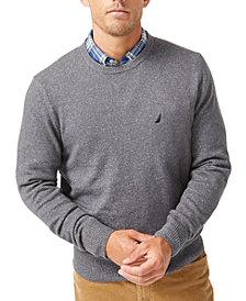Nautica Men's Sustainable Crewneck Sweater
