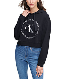 Calvin Klein Jeans Cotton Logo Graphic Hoodie