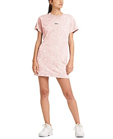 Sport Cotton Washed Logo T-Shirt Dress