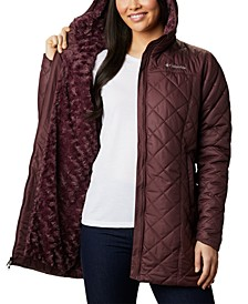 Women's Copper Crest Hooded Fleece-Lined Mid-Length Coat