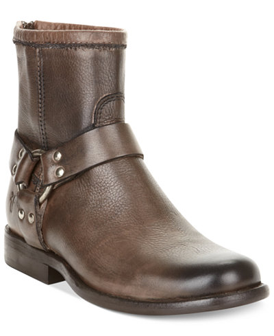 Frye Women S Phillip Harness Short Booties Boots Shoes