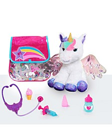 Barbie Dreamtopia Doctor Set with Unicorn Plush Pretend Play Toy- 8 Piece