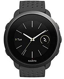Suunto 3 Men's Slate Gray Silicon Strap Compact Sports Watch, 43mm