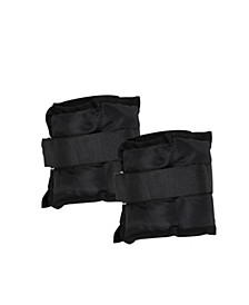 Set of 2 Adjustable 3 lb Ankle Weights