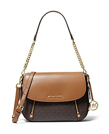 Signature Bedford Legacy Flap Shoulder Bag