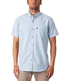 Men's Drifter Standard-Fit Stretch Denim Shirt