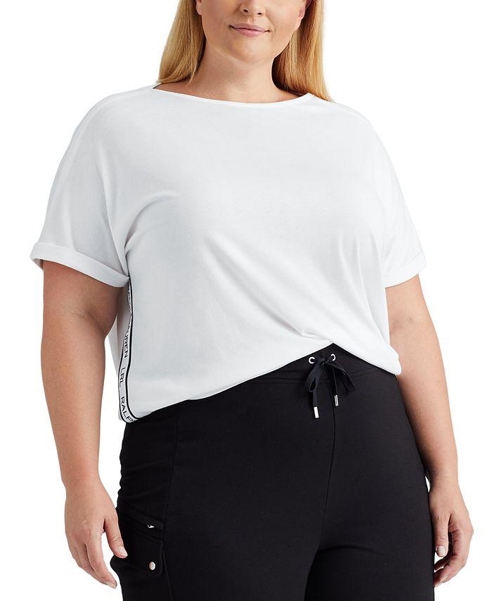 Lauren Ralph Lauren - Plus Size Boatneck Top