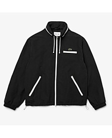 Men's Regular Fit Long Sleeve Water-Repellent Lined Lightweight Windbreaker Jacket