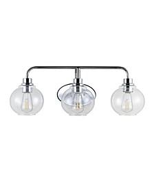 Sandrine 3-Light Cottage Rustic LED Vanity Light