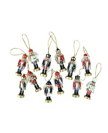 Mini Decorative Christmas Nutcracker Ornaments