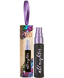 All Nighter Setting Spray Holiday Ornament