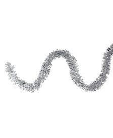 Tinsel Artificial Christmas Garland-Unlit