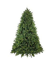 Pre-Lit Full Gunnison Pine Artificial Christmas Tree