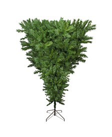Unlit Sugar Pine Artificial Upside Down Christmas Tree