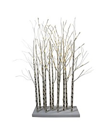LED Lighted Twig Tree Cluster Outdoor Christmas Yard Art Decoration