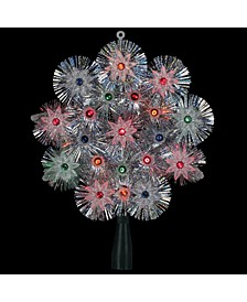 Lighted Retro Starburst Christmas Tree Topper