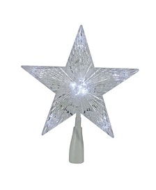 LED Lighted Point Star Christmas Tree Topper