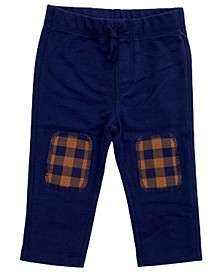 Toddler Boys Buff Check Knee Pant, Created for Macy's