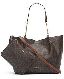 Reversible Monogram Tote