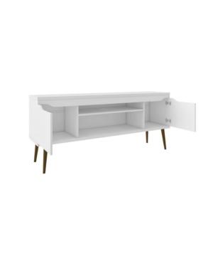 "Manhattan Comfort Bradley 62.99"" Tv Stand In White"