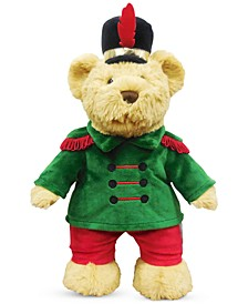 Christmas Cheer Plush Marching Band Brown Bear, Created for Macy's