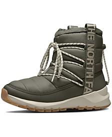 Women's ThermoBall Lace-Up Cold-Weather Boots