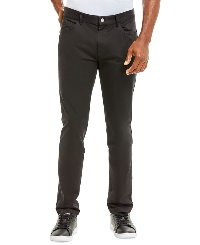 Lacoste - Men's Slim-Fit Stretch Chino Pants