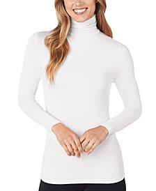 Cuddl Duds Softwear Long-Sleeve Turtleneck Top