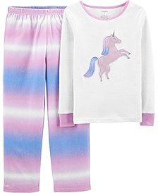 Big Girl  2-Piece Fleece & 100% Snug Fit Cotton PJs
