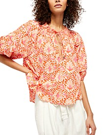 Willow Cotton Printed Top