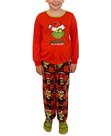 Matching Boys Grinch 3pc Family Pajama Set