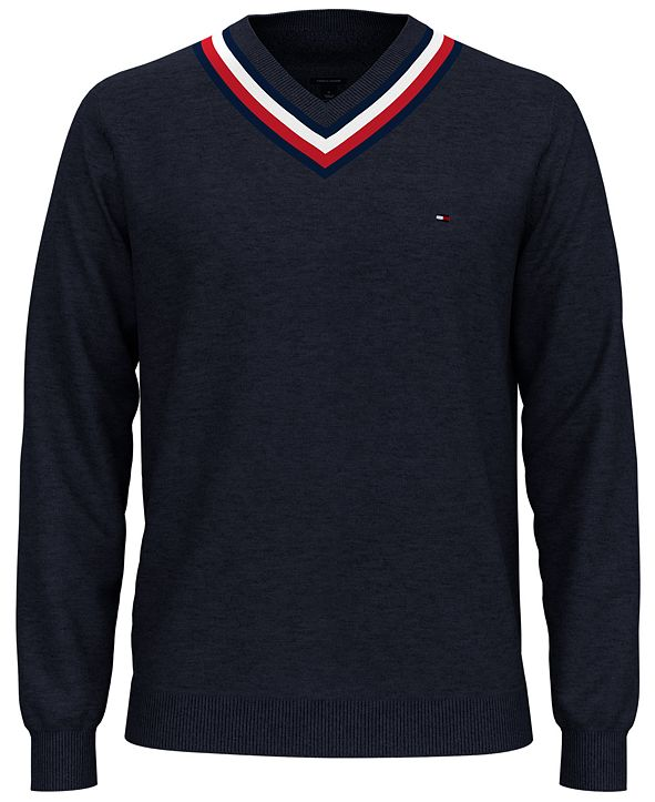 Tommy Hilfiger Men's Murray Regular-Fit Cricket Sweater