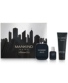 Men's 3-Pc. Mankind Hero Eau de Toilette Gift Set
