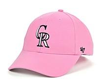 Colorado Rockies Pink Series Cap