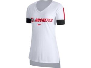 Nike Ohio State Buckeyes Women's Fan V-Neck T-Shirt