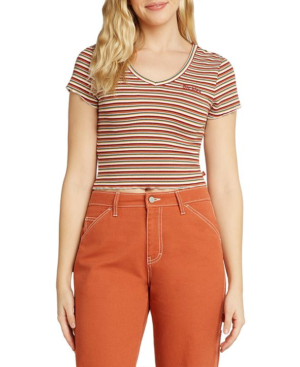 Dickies Juniors' Striped Baby T-Shirt