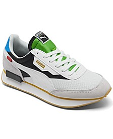 Big Boys Future Rider Unity Casual Sneakers from Finish Line