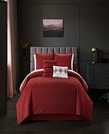 Mayflower 9 Piece Queen Comforter Set