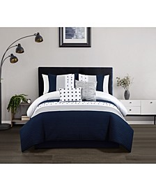 Lainy 9 Piece King Comforter Set