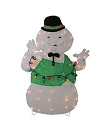 Lighted Sam The Snowman Christmas Outdoor Decor
