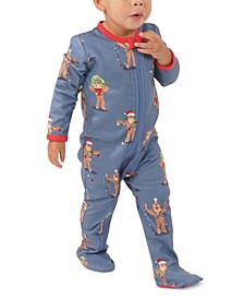 Matching Baby Star Wars Holiday Chewbacca Family Pajama One Piece