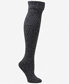 Women's 1-Pk. Garter Stitch Cuffed Over-The-Knee Socks