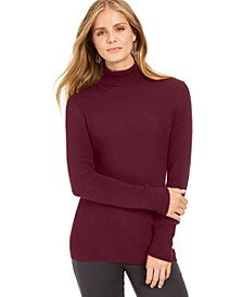 Ribbed Turtleneck Sweater, Created for Macy's