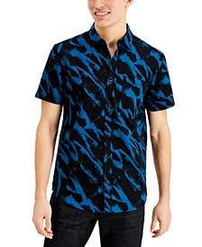 INC Men's Abstract Printed Shirt, Created for Macy's