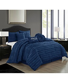 Suva 7-Piece California King Comforter Set